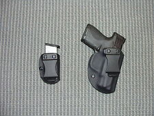 S&W SHIELD  KYDEX HOLSTER an Mag Carrier Black Right Hand IWB Super Deal