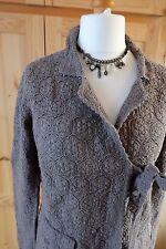 ODD Molly 233a Handmade Crochet Bella Lavorato a Maglia Grigio Taglia 3