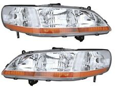 1998 1999 2000 HONDA ACCORD SEDAN/COUPE HEADLIGHT LAMP LIGHT PAIR RIGHT AND LEFT