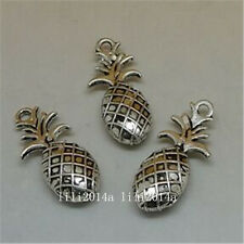 10pc Tibetan Silver pineapple Charm Bead Pendant Jewellery Making Findings PL836