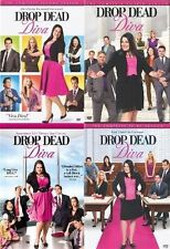 Drop Dead Diva Complete Season 1-4 DVD Set TV Series Show Bundle Lot Box Episode