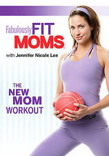 Fabulously Fit Moms: The New Mom Workout -Jenifer Nicole Lee Fitness & Excercise