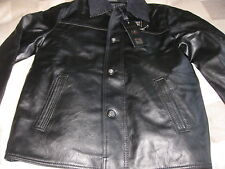 Emporio Collection Italian Genuine Men's Soft Faux Leather Jacket A/E S 46-48