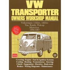 Volkswagen Transporter Owners Workshop Manual 1954-1967 book paper