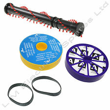 Vacuum Repair Kit For Dyson DC07 Brush Roll Bar Beater Pre & Post Filter & Belts
