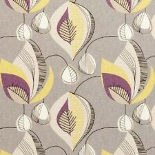 Clarke and Clarke Starlight Elderberry Abstract Curtain Upholstery Craft Fabric