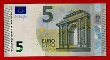 5 EURO U.E. PORTUGAL - DRAGHI signature - M002  - GEM UNC