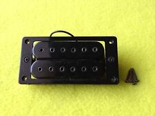 Maison-Vintage 80's-Dmarzio Style-Guitar-Pickup-Bridge-Humbucker-Black-Hot-Parts