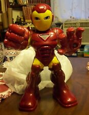 Iron Man Super Hero Squad Figure With Rocket Boost Sounds and Lights Hasbro 2010
