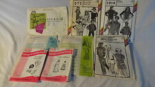 Stretch & Sew Sewing Patterns Vintage  Lot 8  973 1014 901 150 904 2010 208 214