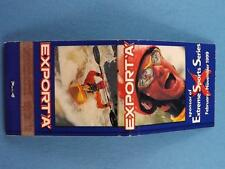 EXPORT A CIGARETTE EXTREME SPORTS SERIES KAYACKING 1999 CHAMPIONSHIP  MATCHBOOK