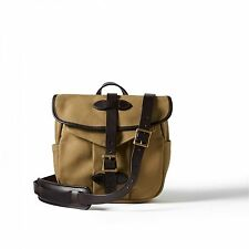 Filson 11070230 Field Bag SMALL Leather + Twill Hunting TAN 70230 BRAND NEW!