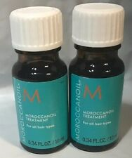 BRAND NEW Moroccanoil Moroccan Argan oil Hair Treatment .35 oz 10ml TRAVEL SIZE