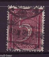 Deutsches Reich Nr.   158  gest.  Ziffer im Rechteck   -7
