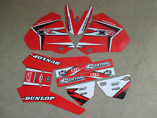 FLU TEAM HONDA GRAPHICS XR250  XR400 1996 97 98 99 2000 2001 2002 2003 2004  XR