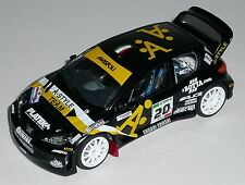 PEUGEOT 206 WRC  BOTTA MONZA RALLY SHOW 2008 DECALS SCALA 1/43