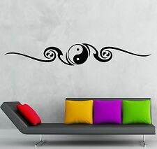 Wall Sticker Vinyl Decal Yin Yang Symbol Chinese Philosophy Mascot (ig1199)