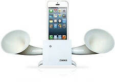 iPhone5c/5s/5/4s/4/iPodTouch5 Loudspeaker.Docking stand.Horn stand.Wood WW