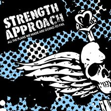 "Strength Approach - All The Plans We Made Are Going To Fail 12"" COLORED AF NYHC"