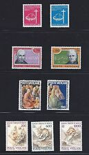 Vatican City Stamp 1967 + 1972 + 1975 + 1982 Bundle Mixed Stamps Unused Italy