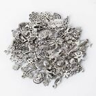 100± Bulk Mixed Tibetan Silver Alloy Charm Pendants Beads DIY Jewelry Findings