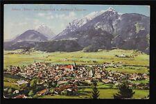 Österreich Postkarte gelaufen Ansicht Schwaz Tirol
