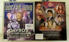 Essential DOCTOR WHO UK Magazine DAVROS & Other VILLAINS Masterminds MEGALOMANIA