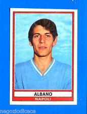 CALCIATORI 1973-74 Panini - Figurina-Sticker n. 247 - ALBANO - NAPOLI -Rec