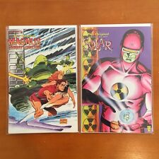 Valiant ORIGINAL DOCTOR SOLAR #1; ORIGINAL MAGNUS ROBOT FIGHTER #1 NM 1995