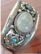 Tibet silver turquoise Cuff Bracelet