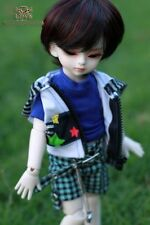 [in stock] Ann DollLove YOSD Baby little dollfie DL boy BJD make up eyes fur wig