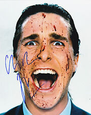 Christian Bale ++ Autogramm ++ The Dark Knight ++ American Psycho ++ The Fighter