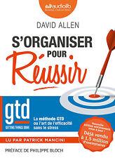 LIVRE AUDIO MP3 S'organiser pour réussir : la méthode GTD David Allen  PAS DE CD