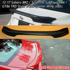 T-Style Rear Trunk Spoiler Wing (ABS) Fits 12-17 Scion FR-S / Toyota 86