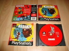 KIRIKU KIRIKÚ THE GAME DE WANADOO PARA LA SONY PS1 USADO COMPLETO