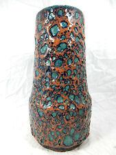70´s design Scheurich Keramik pottery vase in a rare glaze variation 529 25 cm