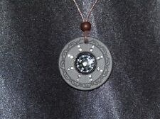 QUANTUM PENDANT Compass Design   6000 Neg Ions With Scalar Energy