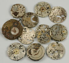 STEAMPUNK B-GRADE 75g Watch parts whole movements & plates  ALTERED ART CRAFTS