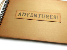 Adventure book scrapbook travel holiday photo album memory book