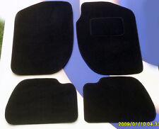 ALFA ROMEO GIULIETTA BLACK CAR MATS  PREMIER  CARPET, SET OF 4              BJJB