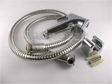 Health faucet shower with 1.2metre flexible steel hose with wall bracket