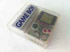 NINTENDO GAME BOY SPECIAL EDITION SKELETON CLEAR TRANSPARENT +ALL ACCESORIES LOT