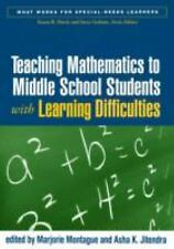 Teaching Mathematics to Middle School Students with Learning Difficulties (What