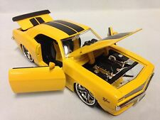 1969 Chevrolet Camaro Z/28, Collectible, Diecast 1:24 Jada Toys, Yellow, DSP