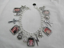 DAVID BOWIE PHOTO CHARMS BRACELET