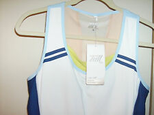 TALI Parisian Colorblock Two Fer Tank Sport Top NWT  Sz Med  ican-iwill,Tennis.