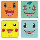 Pokemon Pikachu & More Wood Coaster For Mugs/Cups Geeky Gamers *Free Post*