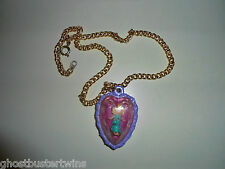 VINTAGE RARE 1993 POLLY POCKET FASHION HEART ROSE DREAM LOCKET NECKLACE LOT