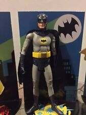 "MATTEL Batman Classic TV Series  BATMAN ADAM WEST 1966 action figure 6"" loose"