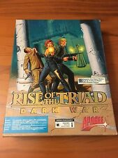 Rise of the Triad: Dark War (PC, 1994) cd No manual Big box